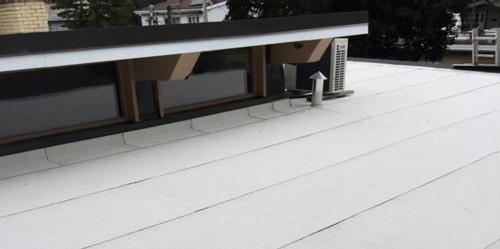 Membrane élastomère et toit plat