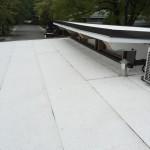 Membrane élastomère pour toit plat à Montréal